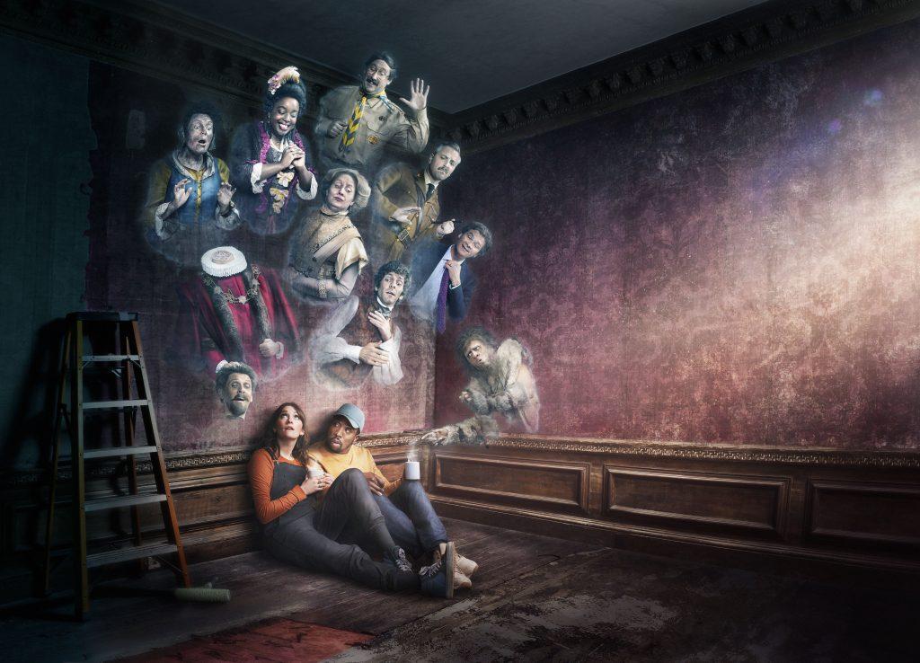 'Fantasmas', la disparatada comedia británica se estrena en febrero en Movistar+