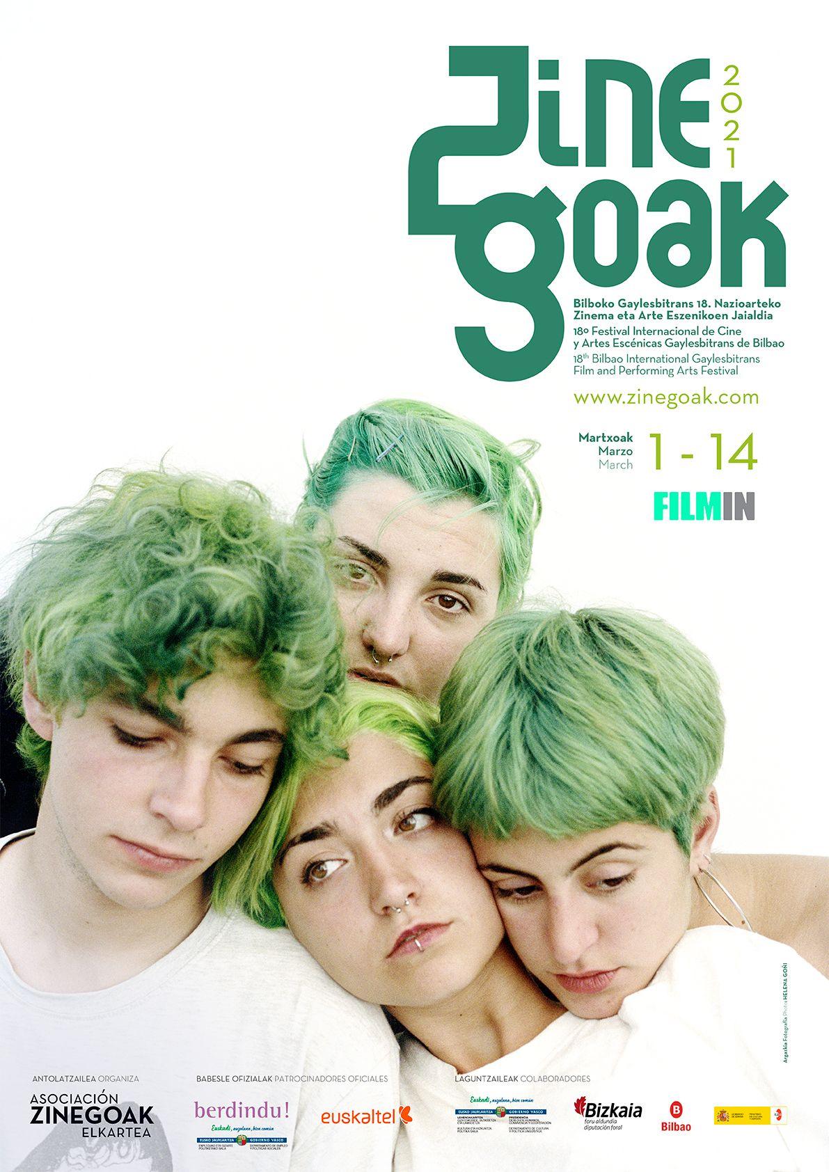 El 18º Festival Internacional de Cine y Artes Escénicas LGTBI+ de Bilbao se celebrará del 1 al 14 de marzo