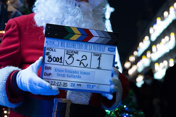 'A Mil Kilométros de la Navidad', la primera película española navideña de Netflix