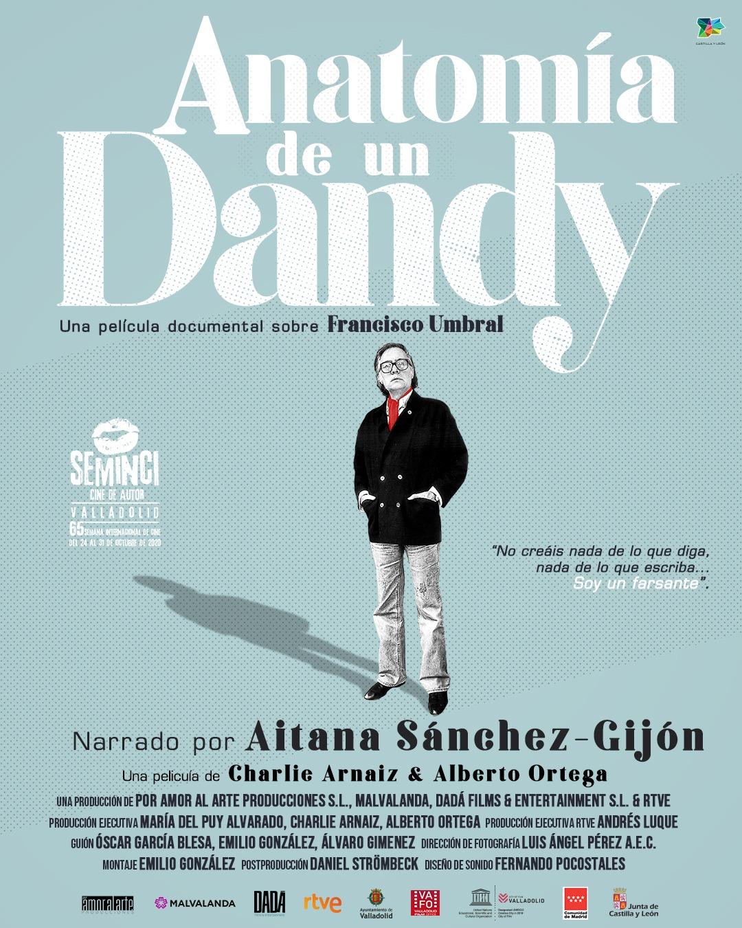 'Anatomía de un dandy' nominado a Mejor Documental en los Premios Goya