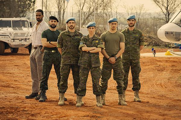 RTVE comienza el rodaje del thriller 'Fuerza de paz'