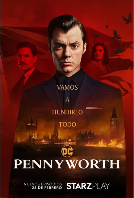 Starzplay estrena este domingo el regreso de la serie original de DC 'Pennyworth'