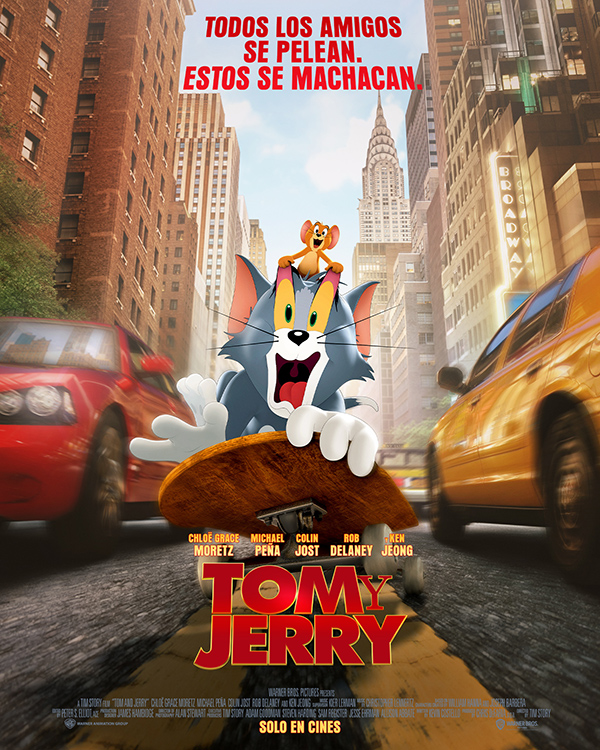 'Tom y Jerry': ¡Corre, que te pillo!