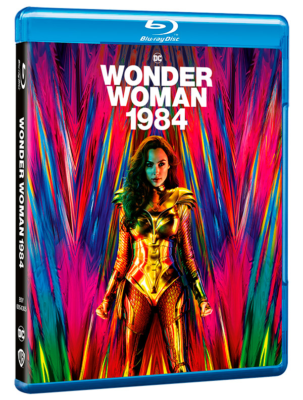 'Wonder Woman 1984' llega el 24 de marzo en Blu-ray, DVD, 4K UHD y Steelbook