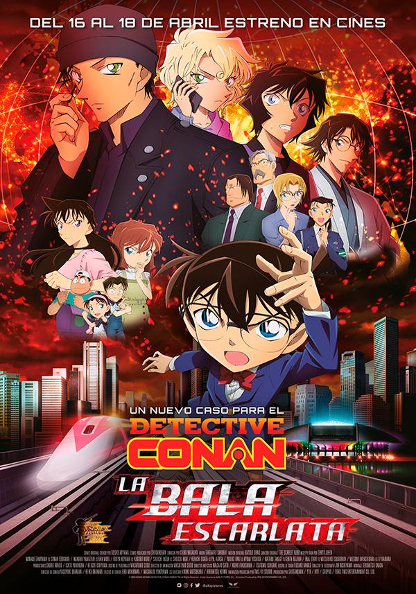 'Detective Conan': la bala escarlata: siempre en nuestro Kokoro