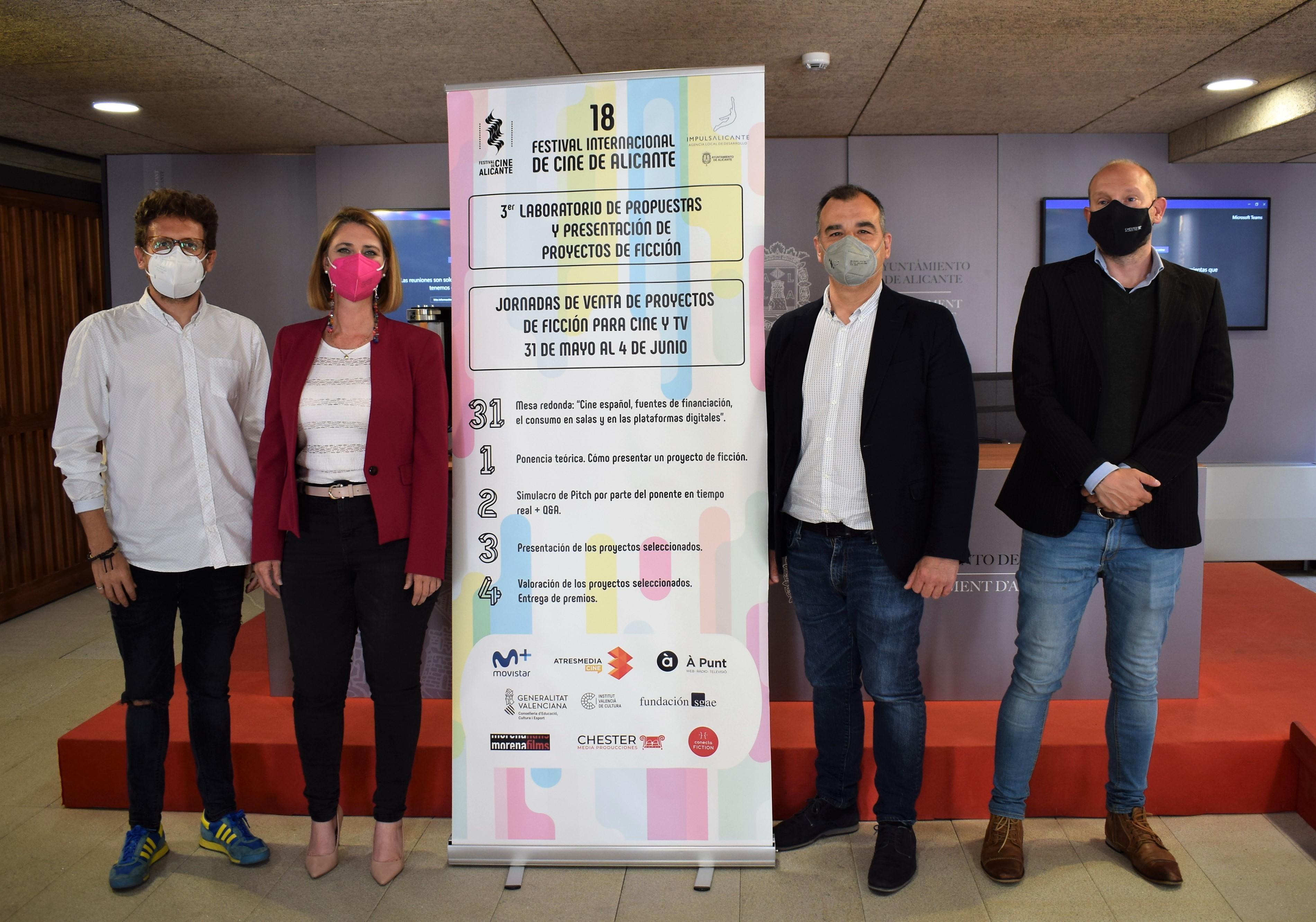 El Festival de Cine de Alicante recibe más de un centenar de proyectos de ficción para la tercera edición de su Laboratorio
