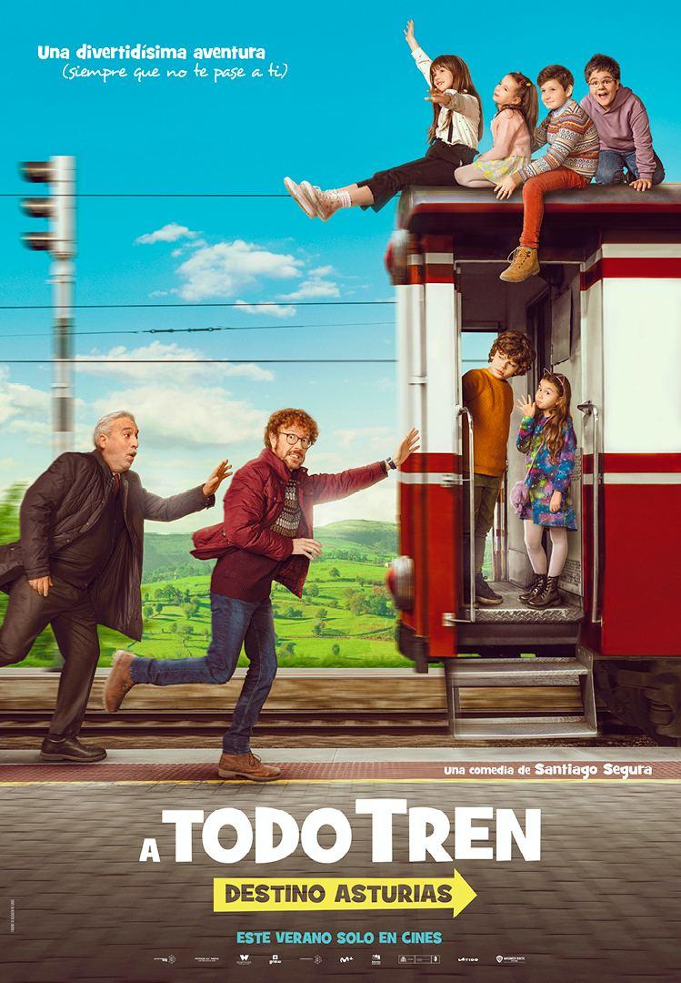 Ya está disponible el tráiler de '¡A todo tren: Destino Asturias!'