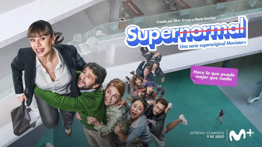 'Supernormal' se estrena el próximo 9 de julio en Movistar +
