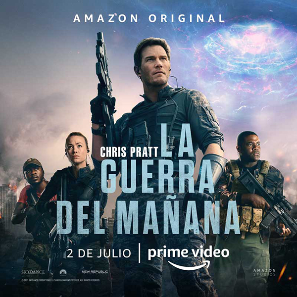 Amazon Studios publica el tráiler final de 'La Guerra del Mañana'
