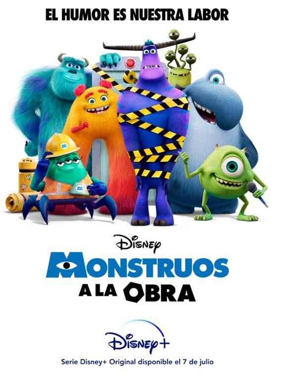 'Monstruos a la Obra' mueve su estreno en Disney + al 7 de julio