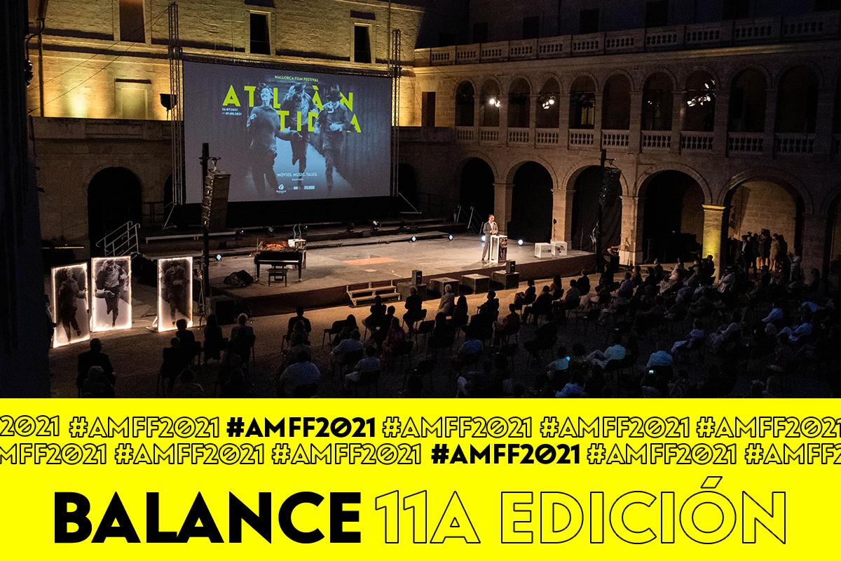 Más de 10.000 personas han disfrutado de la undécima edición del Atlàntida Mallorca Film Fest en Palma