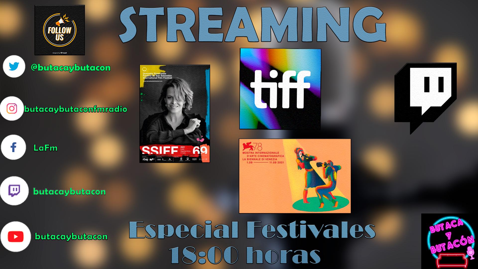 Tertulia cinematográfica: ¡La Alegría de los Festivales!