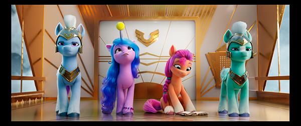 Con motivo del Día Internacional de la Amistad, 'My Little Pony: una nueva generación' presenta su motion póster oficial