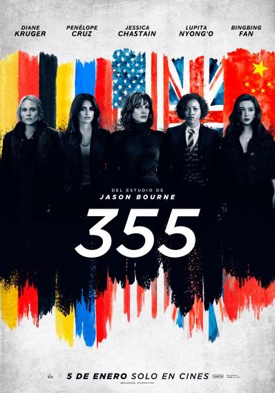 '355' se estrenará el próximo 5 de enero