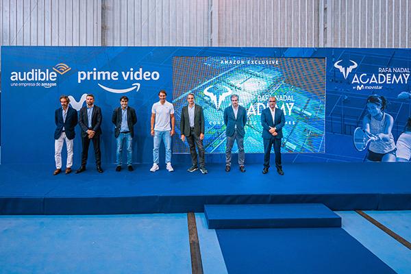 Amazon Prime Video y Audible han presentado hoy la nueva docuserie y el nuevo podcast 'Rafa Nadal Academy'