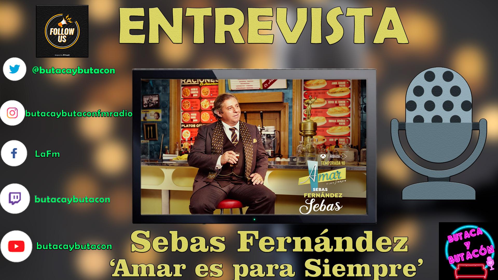 """Sebas Fernández: """"Me tiro más tiempo en 'El Asturiano' que en mi casa, es como Hollywood para mi"""""""
