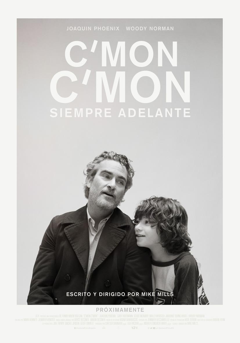 ''C'MON C'MON. Siempre Adelante' presenta su cartel