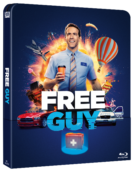 'Free Guy', ya disponible en preventa en DVD, Blu-ray y Steelbook