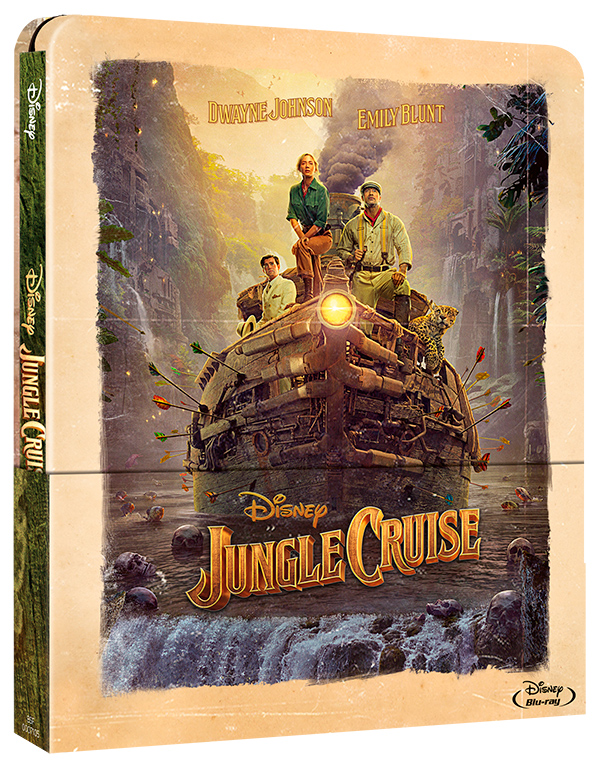 'Jungle Cruise' estará disponible en preventa el próximo 24 septiembre en versión Steelbook, Blu-ray y DVD