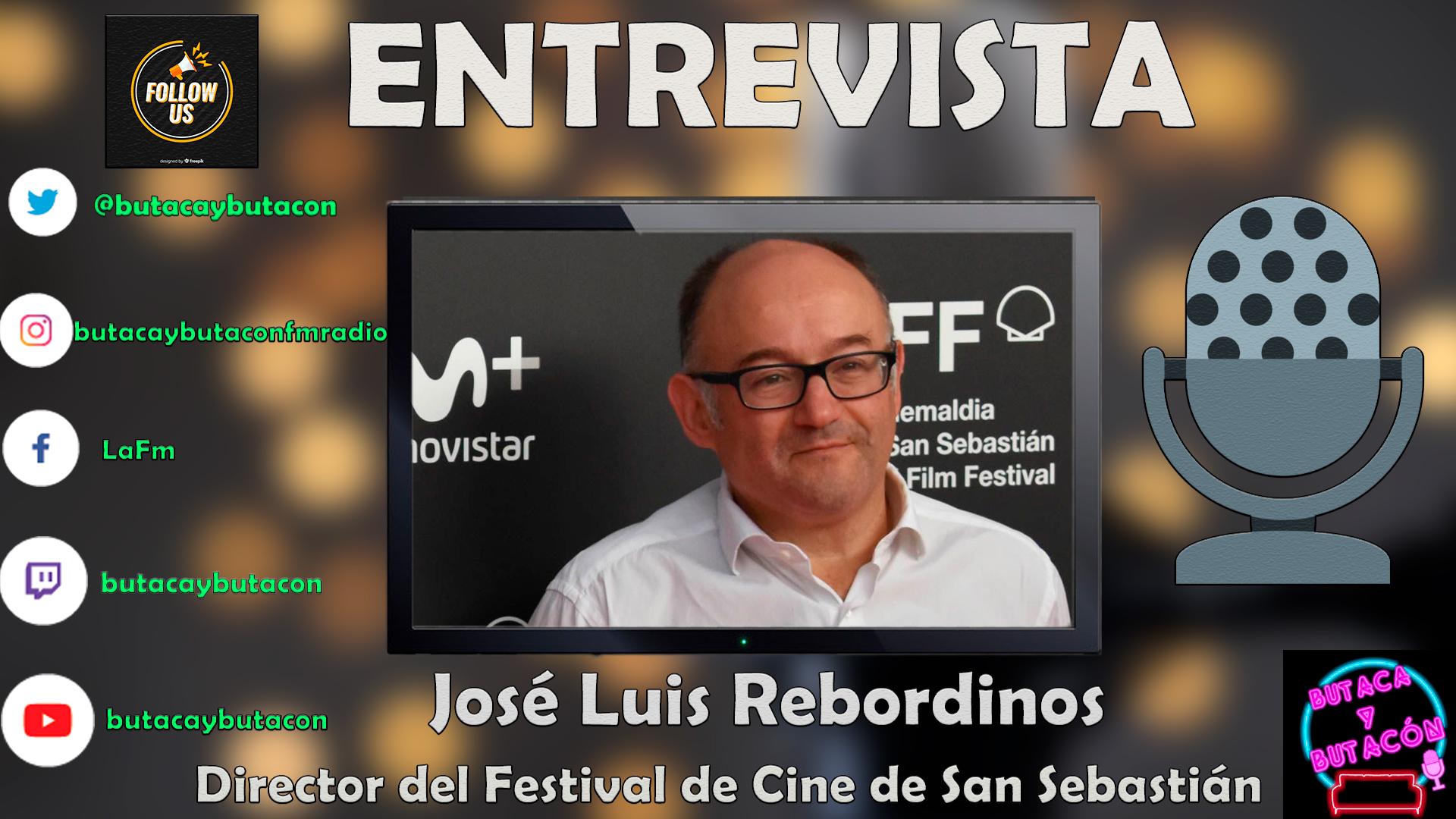"""José Luis Rebordinos: """"Está siendo el Festival de Cine del reencuentro y las emociones"""""""