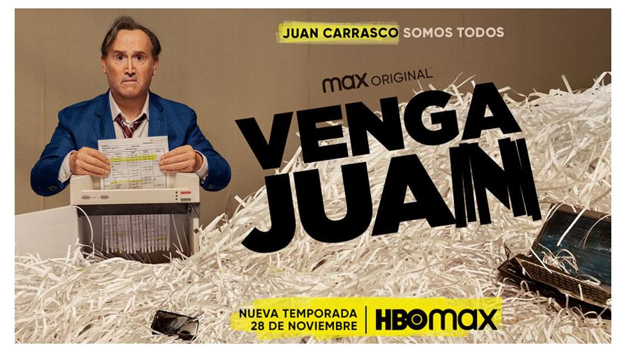Juan Carrasco vuelve el 28 de Noviembre en 'Venga Juan'