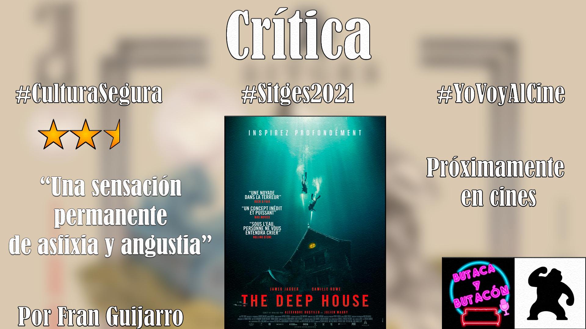 'The Deep House': asfixia y angustia bajo las profundidades marinas