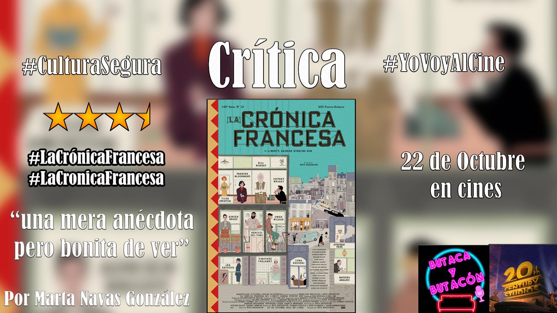 'La Crónica Francesa': Wes Anderson vuelve de nuevo para invitarnos a su particular mundo
