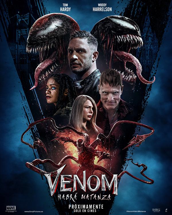 'Venom: Habrá Matanza', mejor estreno en España desde antes del inicio de la pandemia