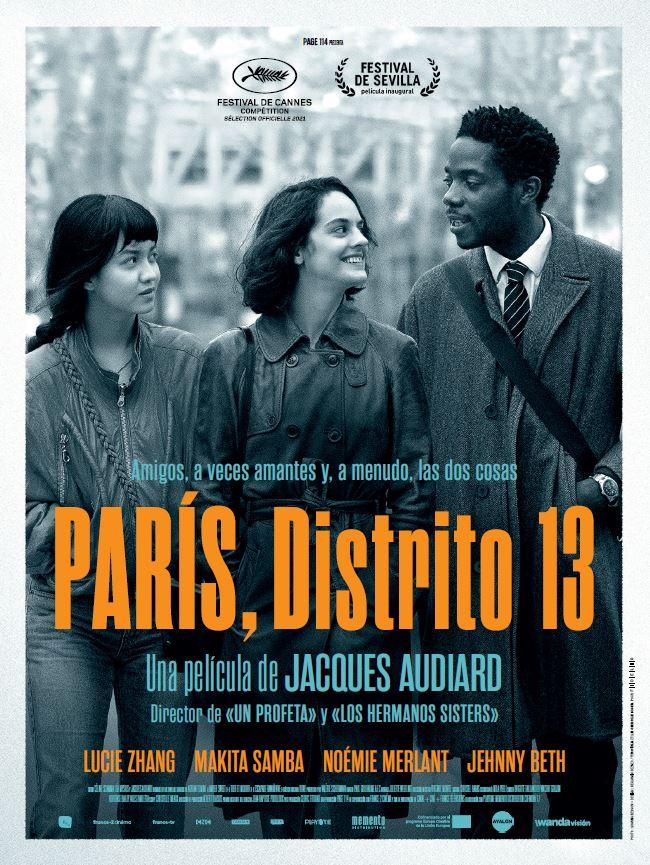 'París, Distrito 13', de Jacques Audiard, inaugurará el Festival de Cine de Sevilla