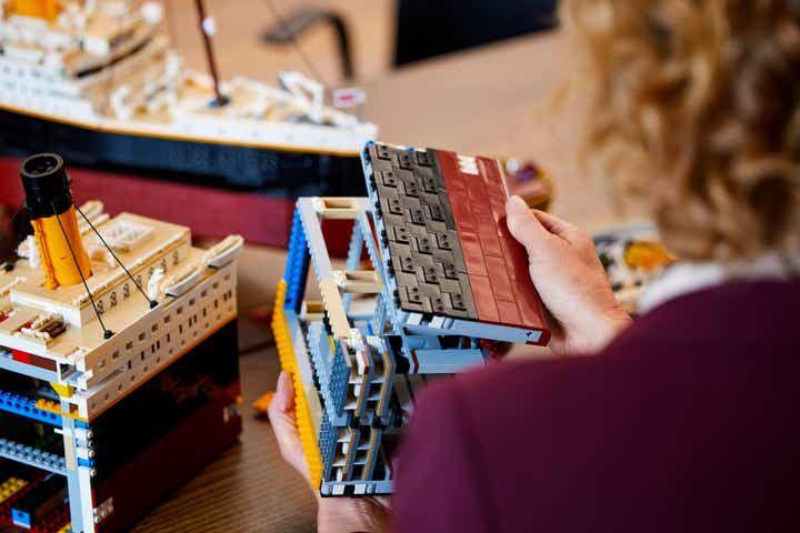 El Grupo LEGO presenta el espectacular LEGO Titanic, con más de 9.000 piezas