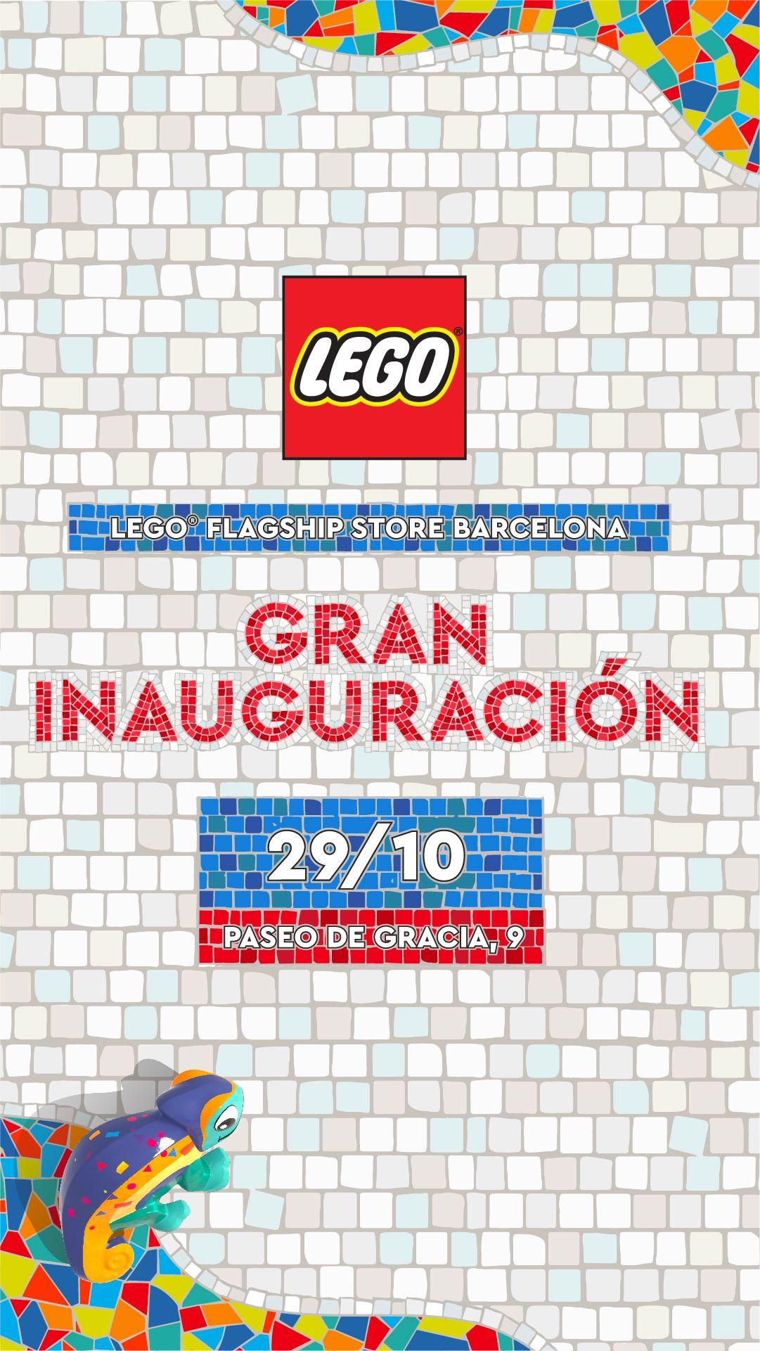 La Flagship Store del Grupo LEGO en España abrirá sus puertas en Barcelona el próximo viernes 29 de octubre